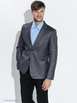 Пиджак ABSOLUTEX. Цвет: темно-серый