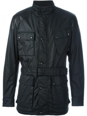 Куртка-карго Belstaff. Цвет: чёрный