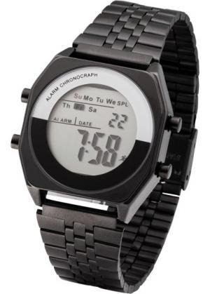 Часы (черный) bonprix. Цвет: черный