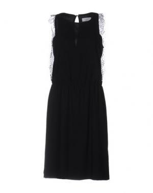 Платье до колена AXARA PARIS. Цвет: черный