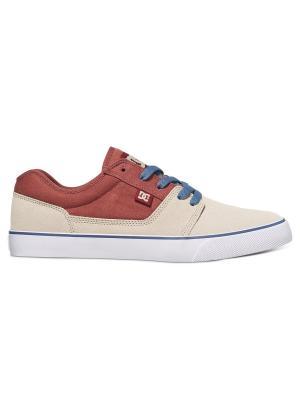 Кеды DC Shoes. Цвет: светло-коричневый, бежевый