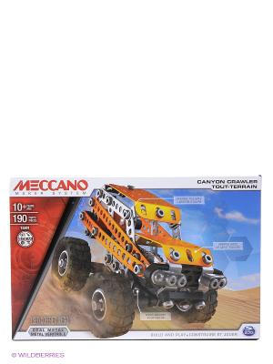 Игрушка Meccano Внедорожник (2 модели) SPIN MASTER. Цвет: оранжевый