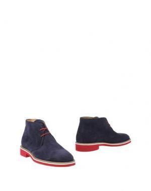 Полусапоги и высокие ботинки BARBATI. Цвет: темно-фиолетовый