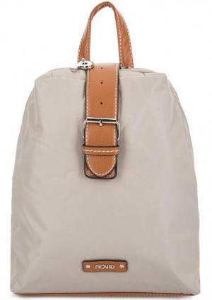 Текстильный рюкзак с узкими лямками Picard. Цвет: серый