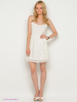 Платье EASY WEAR. Цвет: белый