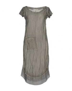 Платье до колена UN-NAMABLE. Цвет: серый