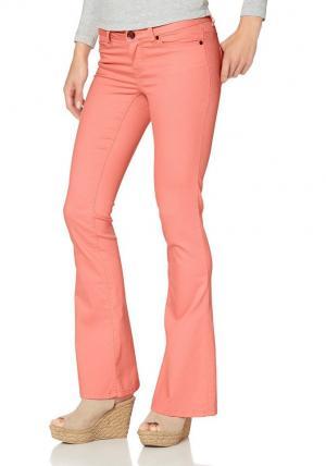 AJC, брюки «клёш» из очень эластичного материала Otto. Цвет: оранжевый