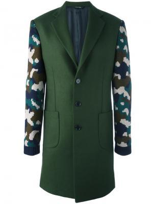 Leo coat Lc23. Цвет: зелёный