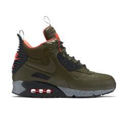 Мужские кроссовки  Air Max 90 SneakerBoot Nike. Цвет: коричневый