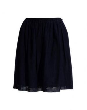 Юбка до колена 8. Цвет: темно-синий