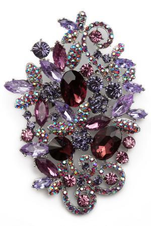 Брошь-кулон Patricia Bruni. Цвет: сиреневый, фиолетовый, розовый