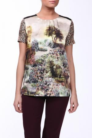 Блуза Angelo Marani. Цвет: мультицвет