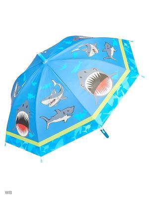 Зонт Modis. Цвет: синий, голубой