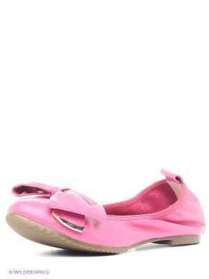 Балетки Valley. Цвет: розовый
