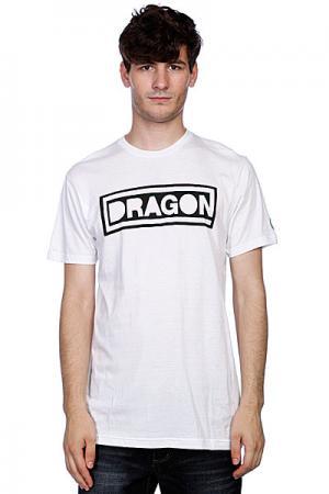 Футболка  Block Pf S11 Ss White Dragon. Цвет: белый