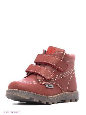 Ботинки XTI. Цвет: бордовый