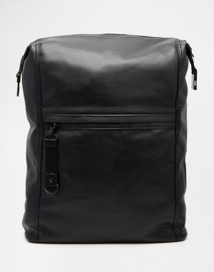 Dark Future Рюкзак с карманом спереди. Цвет: черный