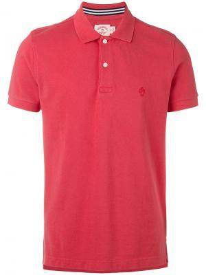 Классическая футболка-поло Brooks Brothers. Цвет: красный