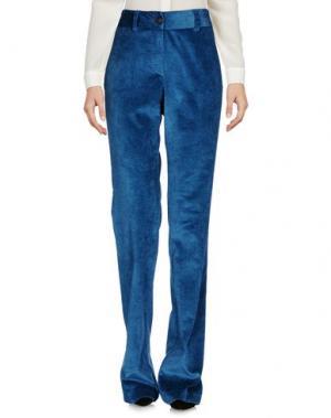 Повседневные брюки GARAGE NOUVEAU. Цвет: синий