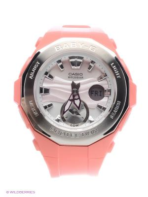 Часы Baby-G BGA-220-4A CASIO. Цвет: коралловый