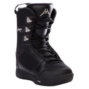 Ботинки для сноуборда детские  Squirt Boys Black Lamar. Цвет: черный