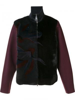 Куртка на молнии с высокой горловиной Wooyoungmi. Цвет: чёрный