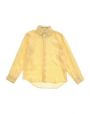 Pубашка MC2 SAINT BARTH. Цвет: желтый