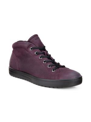Ботинки ECCO. Цвет: темно-фиолетовый