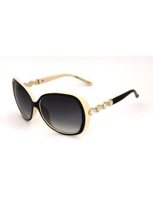 Cолнцезащитные очки Exenza. Цвет: коричневый, бежевый