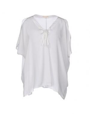 Блузка GOLD HAWK. Цвет: белый