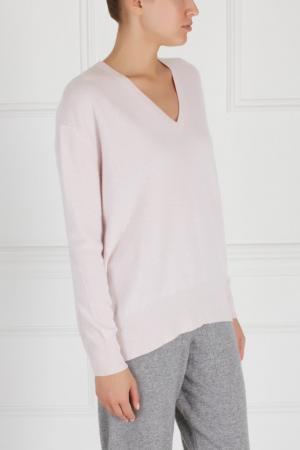 Кашемировый пуловер MYONE. Цвет: розовый