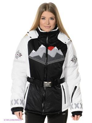 Куртка Sport Vision. Цвет: белый, красный, черный