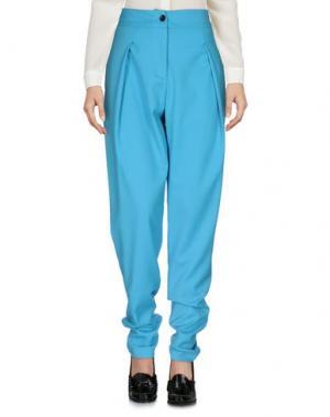Повседневные брюки ULTRA'CHIC. Цвет: небесно-голубой