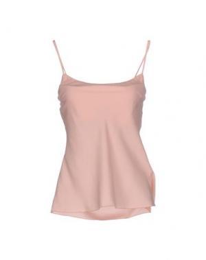 Топ без рукавов EMMA&GAIA. Цвет: розовый