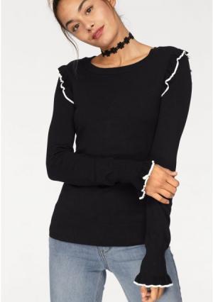 Пуловер AJC. Цвет: черный