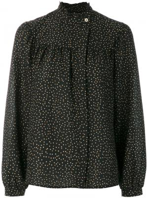 Блузка Eloise Vanessa Seward. Цвет: чёрный