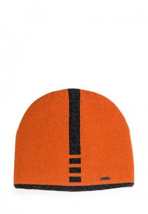 Шапка Dan & Dani. Цвет: оранжевый