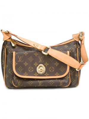 Сумка на плечо с монограммой Louis Vuitton Vintage. Цвет: коричневый