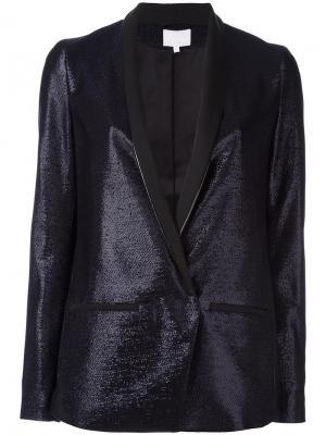 Пиджак с застежкой на пуговицу Lala Berlin. Цвет: синий