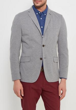 Пиджак Springfield. Цвет: серый