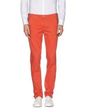 Повседневные брюки JAGGY. Цвет: ржаво-коричневый