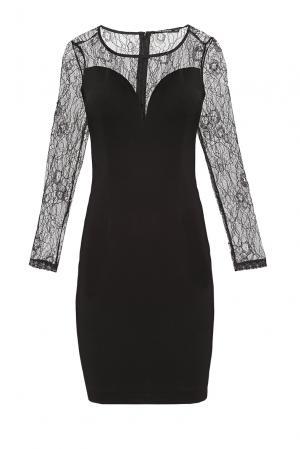 Платье из хлопка 176330 Paola Morena. Цвет: черный