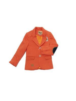 Жакет Pilota. Цвет: оранжевый