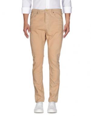 Джинсовые брюки SCOTCH & SODA. Цвет: песочный