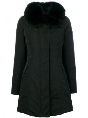 Дутая куртка Peuterey. Цвет: чёрный