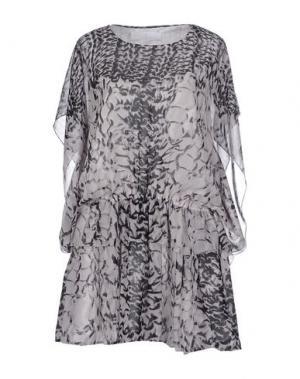 Короткое платье THAKOON ADDITION. Цвет: серый