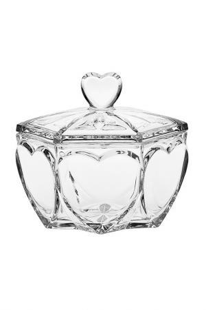 Доза, 13 см Crystalite Bohemia. Цвет: прозрачный