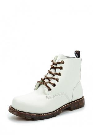 Ботинки Y & L. Цвет: белый