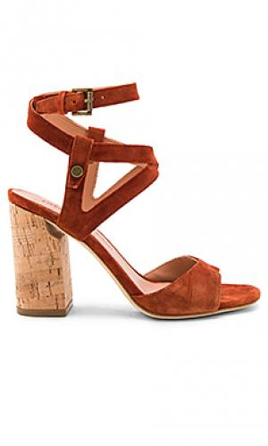 Туфли на каблуке paulina Sigerson Morrison. Цвет: ржавый