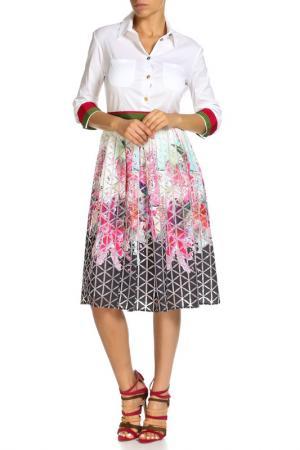 Платье Beatrice. B. Цвет: белый ромб